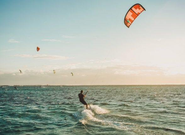 Différentes disciplines du kitesurf