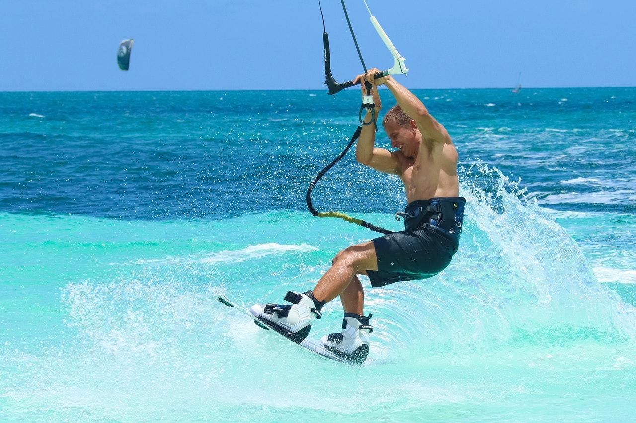 L'apprentissage du kitesurf