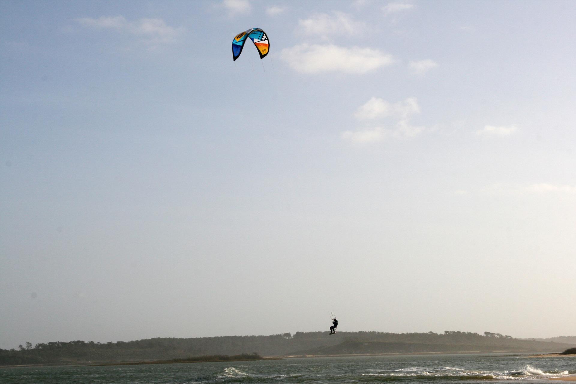 Équipements pour le kitesurf